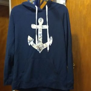 Cute anchor hoodie